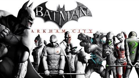 Batman Arkham City The Movie