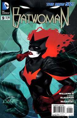 Batwoman Vol 1-9 Cover-1