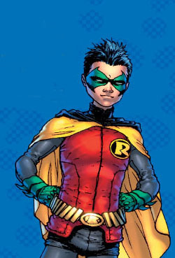 Image result for Robin V/Damien Wayne