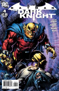 Batman The Dark Knight-4 Cover-1