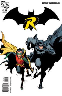 Batman and Robin-19 Cover-1