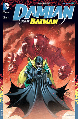Damian - Son of Batman Vol 1-2 Cover-1