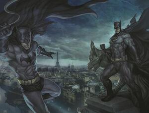 Batman Dick Grayson and Bruce Wayne