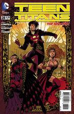Teen Titans Vol 4-28 Cover-2