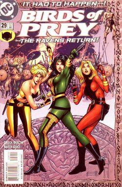 Birds of Prey 29c
