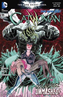 Catwoman Vol 4-11 Cover-1