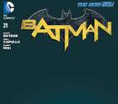 Batman (Volume 2) Issue 21