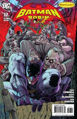 Batman and Robin-17 Cover-1
