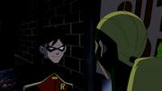 Robin teases Artemis