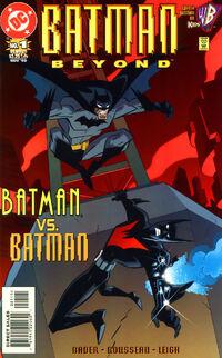 Batman Beyond v2 01 Cover