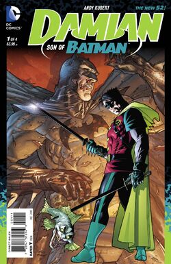 Damian - Son of Batman Vol 1-1 Cover-1