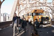 TDKR John Blake bus