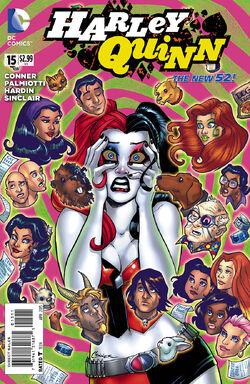 Harley Quinn Vol 2-15 Cover-1