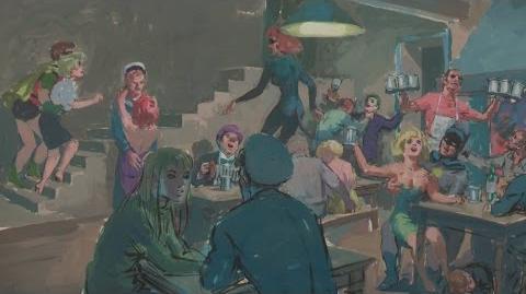 "Leslie Thomas ""Batman"" Painting, ca. 1966 Web Appraisal Santa Clara"