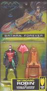 Batman Forever Sky Board Robin Action Figure