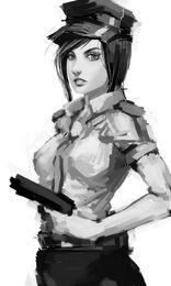 Police woman by tekkoontan-d4gmdyx