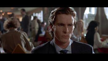 Bruce Wayne American Psycho