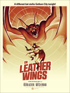 On Leather Wings Poster