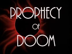 Prophecy of Doom Title Card