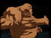 Clayface absorbs Batman