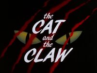 The Cat and the Claw Part I Title Card