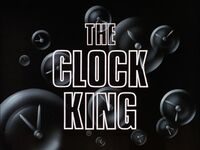 The Clock King Title Card