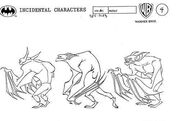 Man-Bat Turnaround Model Sheet