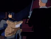 On Leather Wings 11 - Batman and Alfred in the Batcave