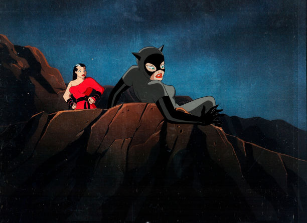 File:Catwoman vs Red Claw Litograph.jpg