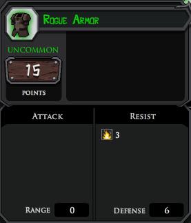 Rogue Armor profile