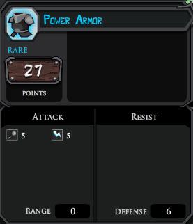 Power Armor profile