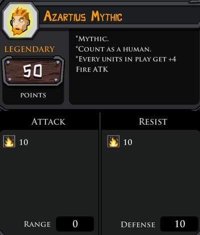 Azartius Mythic profile