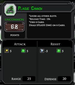 Plague Cannon profile