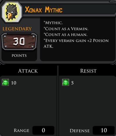Xonax Mythic profile
