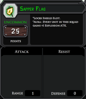 Sapper Flag profile