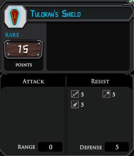 Tulorans Shield profile