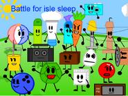 Battle for isle sleep