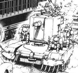 BAA08 123 Barjack tank