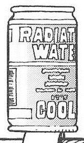 GUNNM AS 121 Radiation Water
