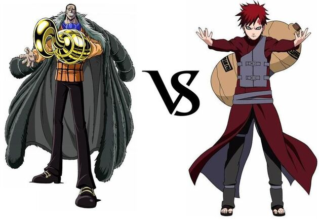 Crocodile vs. Gaara