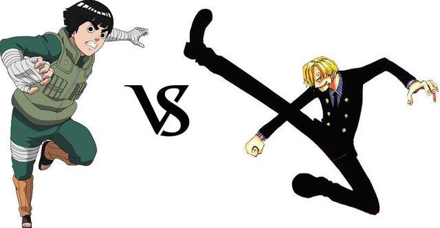 File:Rock Lee vs. Sanji.JPG