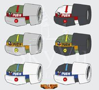 Bouncing Betty Concept