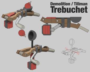 Demolition weapon