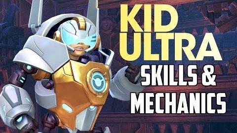 Battleborn NEW Hero KID ULTRA Skills & Mechanics Analysis
