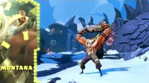 Battleborn Montana Gameplay Video
