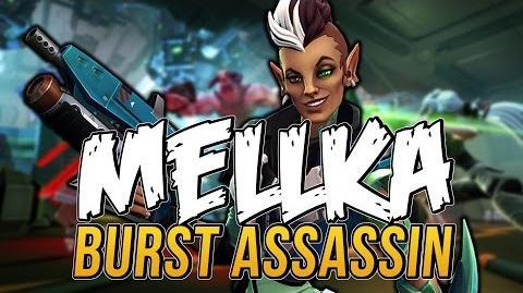 Battleborn Multiplayer Highlights of Mellka