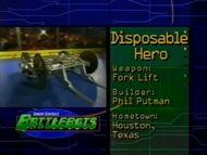 DisposableHero stats 1.0