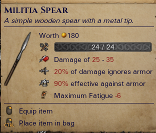 Militia Spear
