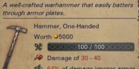 Unique Warhammer