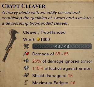 Crypt Cleaver